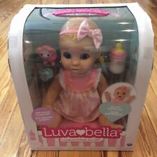 RARE SOLD OUT LUVABELLA REALISTIC EXPRESSION BABY DOLL BLONDE GIRL 6044112 (NEW)