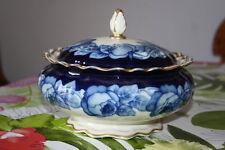Rosenthal seltene Bonboniere Kobaldblau Gold  Maria Theresia Dekor 6590 -103 Rar