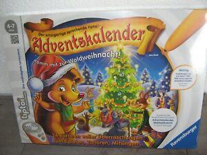 Adventskalender Waldweihnacht tiptoi von Ravensburger NEU