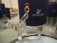 Swarovski Crystal Figurine PLAYING SEAL- RETIRED