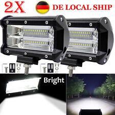 2x72W LED Fernscheinwerfer Arbeitsscheinwerfer 12V 24V PKW LKW SUV Auto Anhänger