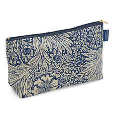 William Morris Marigold Indigo Travel Toiletries Wash Bag