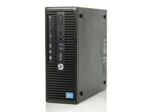 HP ProDesk 405 G2 MT 4GB RAM, 500GB HDD W/ Windows 10 Pro And Office 2019 Pro+