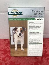 "Pet Safe Freedom Aluminum Pet Door (Small) 1-12 lb. 5"" x &"" Flap"