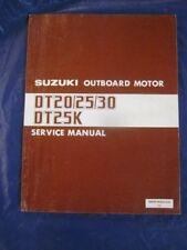 Suzuki Outboard Motor Service Manual DT20 DT25 DT30 DT25K OEM Genuine