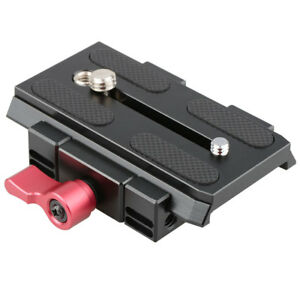 CAMVATE Quick Release Mount Base QR Plate for Manfrotto Standard Tripod