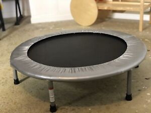 Small Exercise Round Bounce Fitness Mini Indoor Fun Home Gymnast Trampoline