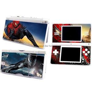ESHINY Vinyl Spider-Man case Cover Decal for Nintendo DS Lite Sticker NDSL -604