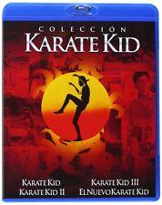 KARATE KID quadrilogy (1-2-3-4-The Next Karate Kid) **Blu Ray B** Box Set 4 Disc