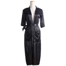 Women Long Silk Kimono Dressing Gown Bath Robe Babydoll Lingerie Nightdress Nice