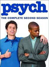 Psych 2nd Complete Second Season 2 Two Series TV DVD Set Tv Show Episode Dule R1