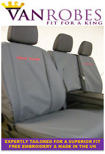 Volkswagen Crafter 2006-2017 Tailored Van Seat Covers. + Free Embroidery