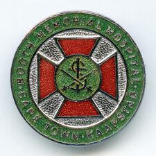 Vintage badge Both Memorial Hospital Cape Town nursing Salvation Army