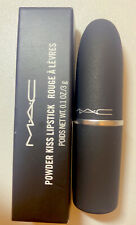 MAC Powder Kiss Lipstick Rouge A Levres #923 Stay Curious Full Size 0.1oz / 3g