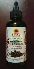 Tropic Isle Living Strong Roots Red Pimento Hair Growth Oil 4oz NEW ~