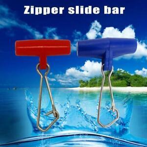 50X Zip Slider zum Ausführen von Ledger-Sea Fishing Sliding Ledger Boom Kleines