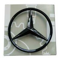 Mercedes Gloss Black Boot Star Emblem Rear - Fits GLA Class AMG X156