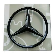 Mercedes Gloss Black Boot Star Emblem Rear - Fits A Class AMG W176