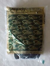 Jet Black Silkies Shapely Perfection Pantyhose Queen X-Large 010508