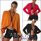 SEXY WOMEN CARDIGAN long sleeve TOPS KNITTED cover coat OVERSIZED BAGGY LOOSE AU