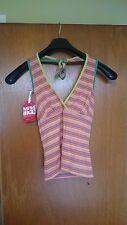 Ladies Singlet 'Miss Sixty' Piper Singlet - Size Small or Medium (Sale)