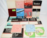 Vintage Lot of 25 Various Brands Recorded 7 inch Reel To Reel Tapes Lot # 5