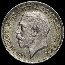 More details for 1924 george v silver sixpence, uncirculated