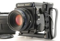 【EXC+++】 Mamiya RZ67 + Sekor Z 110mm F2.8 w/120Filmback x2,Grip from JAPAN A68