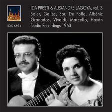 Soler / Presti / Lag - Ida Presti & Alexandre - Lagoya 3 [New CD]