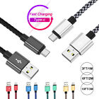 For Samsung Galaxy Note 8 9 10 20 S9 Charger Cable USB Type C Fast Charging Cord