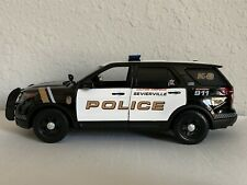 Sevierville Tennessee Police Department K-9 diecast SUV Motormax 1:24 scale