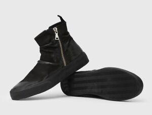John Varvatos Mac Double Zip Hightop Sneaker size 10 New in box