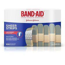 Bandas Elásticas Resistentes Curitas Adhesivas Para Heridas Menores Cortes