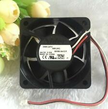 Nidec 6CM 6025 D06K-24TU DC 24V 0.1A 2-line For Printer / Inverter Cooling Fan