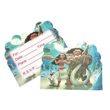 Moana Birthday Party Invitations 10 pieces Kids US Seller New