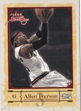 2004-05 Fleer Sweet Sigs Allen Iverson