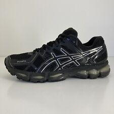 Asics Gel Kayano 21 Men's US8.5 Triple Black VGC (T4H2N) Rare Running Shoes