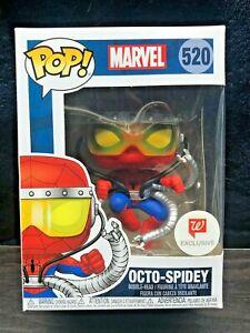 """NEW Marvel Spider-Man """"Octo-Spidey"""" FUNKO POP! #520 EXCLUSIVE!!"""