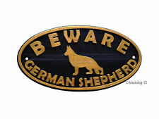 Dog Plastic Outdoor Signs/Plaques