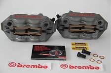 BREMBO PINZE RADIALI MONOBLOCCO M4 34 INTERASSE 108 SUZUKI GSX R 750 2004-2017