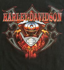 Harley-Davidson Shenandoah Staunton Virginia Twin Cam Medium Black T-Shirt