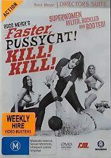 Faster Pussycat! Kill! Kill! (DVD, 1965) Region 4