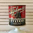 Tilghman Oysters Tin Can Pint Tilghman Island MD. 267 Chesapeake Bay.