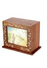 urne per funerali e commemorazioni legno