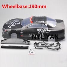 190MM RC Car PVC Body Shell 020GR For 1/10 RC Model On Road Drift Racing Car