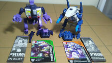 Transformers Power of the Primes Terrorcons Rippersnapper and Blot set of 2
