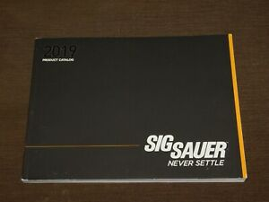 2019 SIG SAUER GUNS RIFLES PRODUCT CATALOG