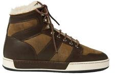 Ralph Lauren Purple Label Blayne Leather Shearling Sneakers 11 New $995