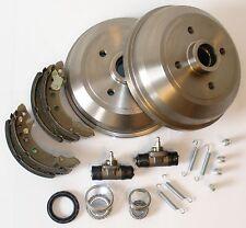 VW Polo 6N 6 N Bremstrommel Trommeln Bremse Kit Satz Set hinten**