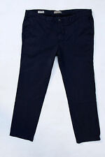 Marlboro RUGGED REFINED CHINO PANTS BLUE JEANS SLIM FIT REGULAR EU 60 XXXL W44